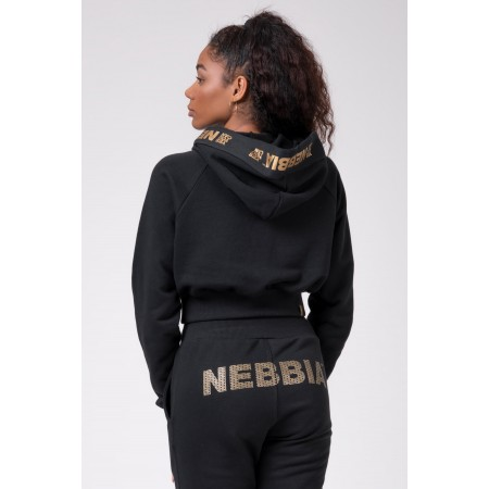 Nebbia - Golden Cropped hoodie